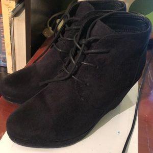 Journee Collection Shoes - Black booties